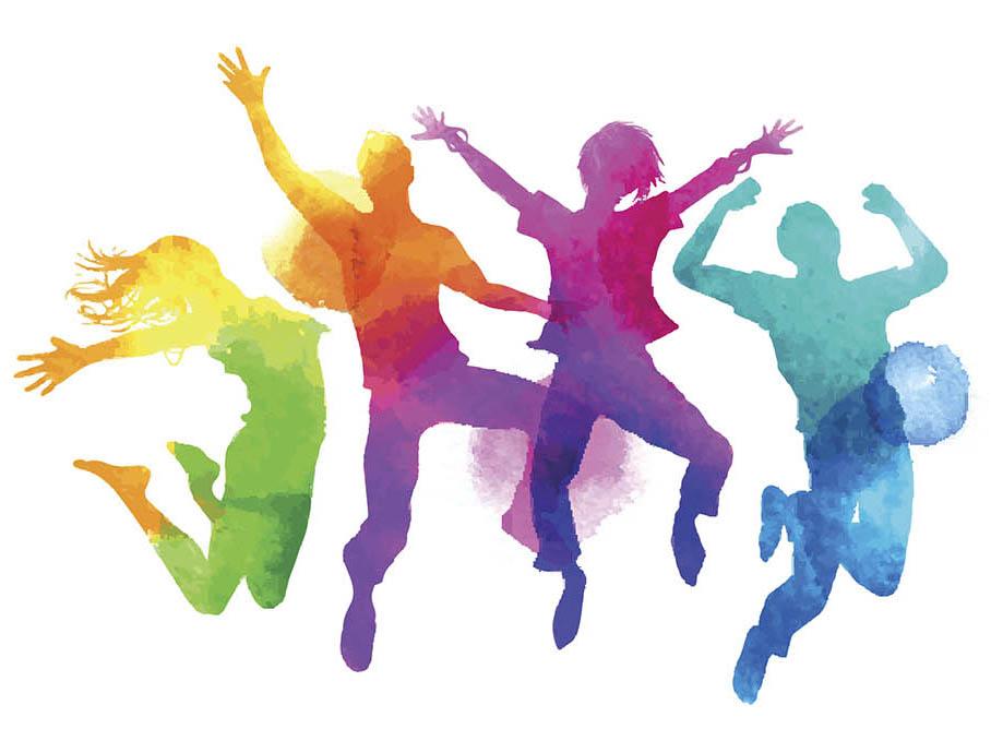 Картинки с танцующими человечками