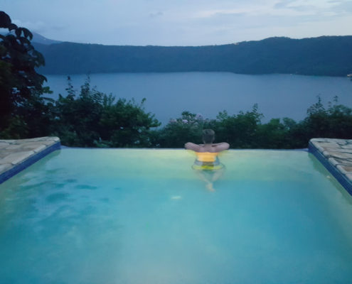 nicaragua for you holiday home rental infinite pool