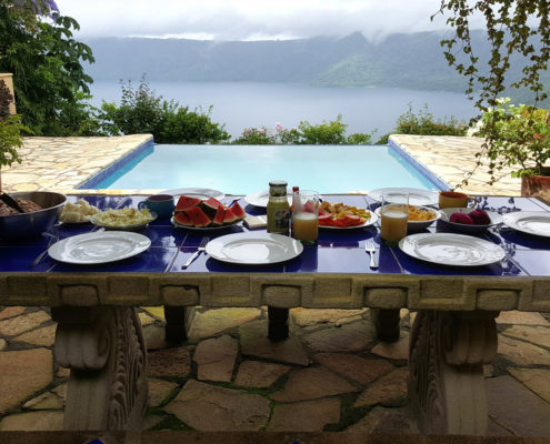 nicaragua for you holiday home rental table of food